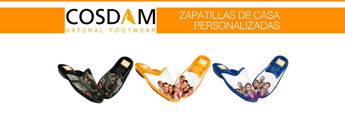 Zapatillas de casa personalizadas