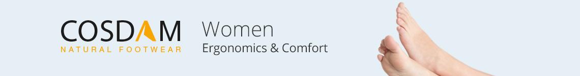 Cosdam Woman ergonomics and confort