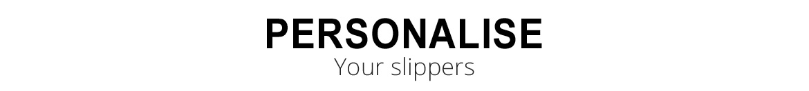 Personalise your biorelax slippers