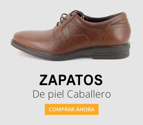 zapatos de piel caballero