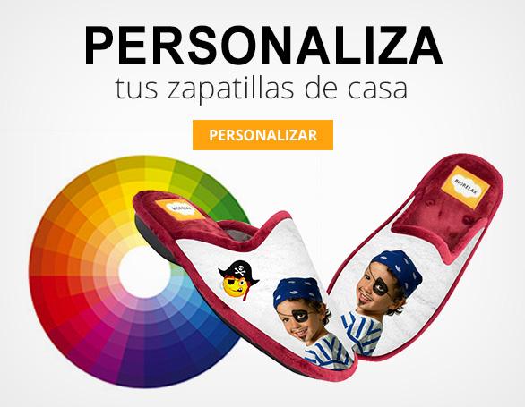Zapatillas de casa personalizadas Biorelax Cosdam