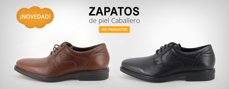 Zapatos de piel para hombre