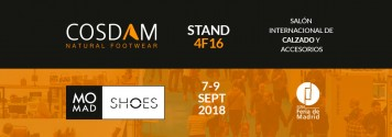 Cosdam en la Feria MOMAD SHOES 2018